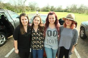Tara, Kaylee, Amanda, Allie.